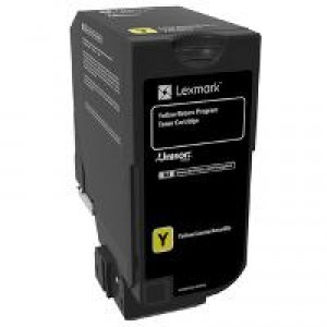 Lexmark CS920 , CX920 Yellow OEM Toner Cartridge