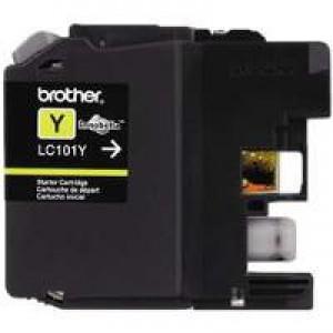 Brother LC101Y Yellow OEM Inkjet Cartridge