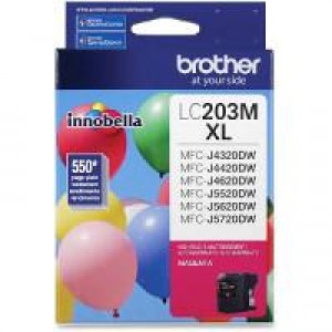 Brother LC203M Magenta OEM Inkjet Cartridge