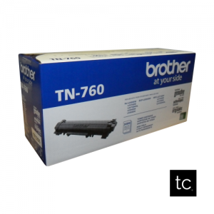 Brother TN-760 Black OEM Toner Cartridge