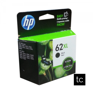 HP 62XL Black OEM Inkjet Cartridge