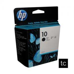 HP 10 Black OEM Inkjet Cartridge
