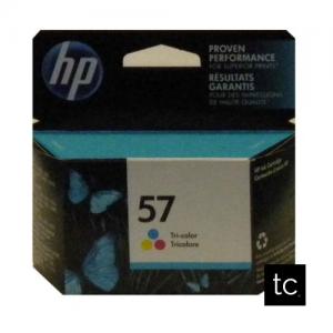 HP 57 Tri-color Cyan Magenta Yellow OEM Inkjet Cartridge