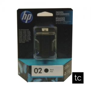 HP #02 Black OEM Inkjet Cartridge