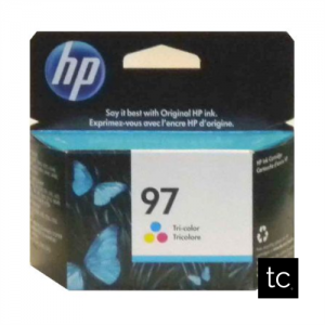 HP 97 Tri-color Cyan Magenta Yellow OEM Inkjet Cartridge