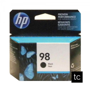 HP 98 Black OEM Inkjet Cartridge