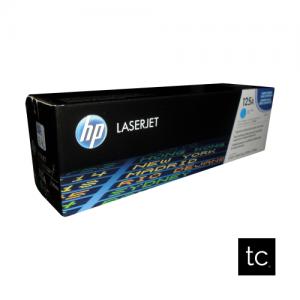 HP 125A Cyan OEM Toner Cartridge