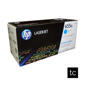 HP 655A Cyan OEM Toner Cartridge