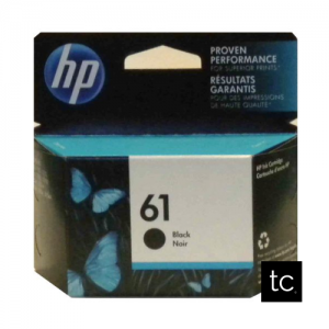 HP 61 Black OEM Inkjet Cartridge