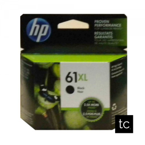 HP 61XL Black OEM Inkjet Cartridge