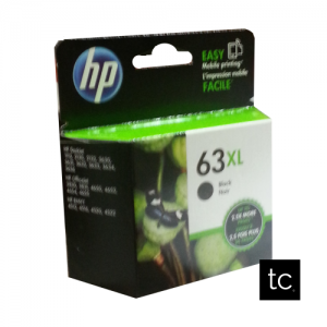 HP 63XL Black OEM Inkjet Cartridge