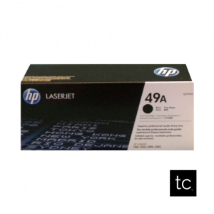 HP 49A Black OEM Toner Cartridge