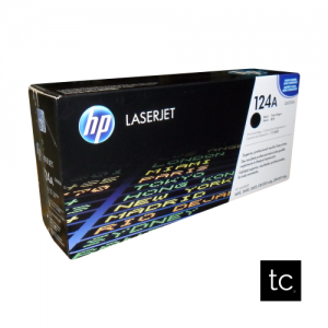 HP 124A Black OEM Toner Cartridge