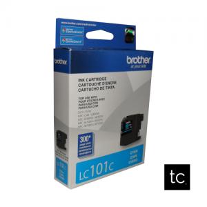 Brother LC101C Cyan OEM Inkjet Cartridge