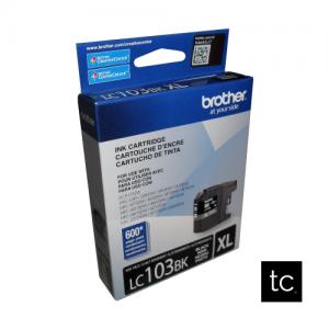 Brother LC103BK Black OEM Inkjet Cartridge