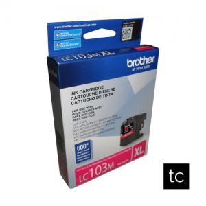 Brother LC103M Magenta OEM Inkjet Cartridge
