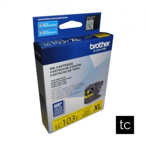 Brother LC103Y Yellow OEM Inkjet Cartridge