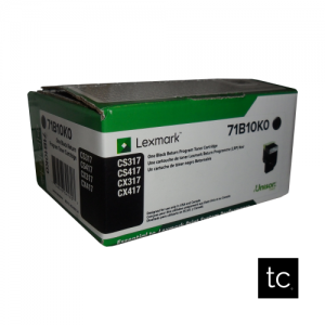 Lexmark 711K Black OEM Toner Cartridge