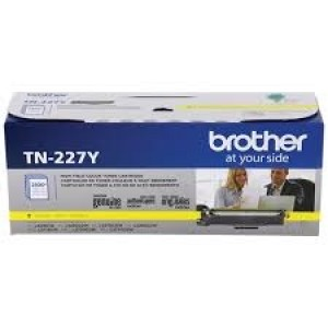 Brother TN-227Y Yellow OEM Toner Cartridge