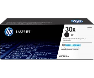 HP 30X original black high yield toner cartridge