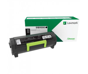 Lexmark MS/MX 317·417· 517· 617 original -return program- black toner cartridge