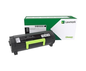 Lexmark 511 original -return program- black toner cartridge