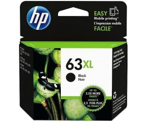 HP 63XL original black high yield inkjet cartridge