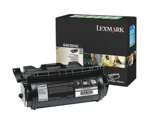 Lexmark T640/T642/T644 original -return program- black high yield toner cartridge