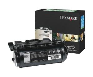 Lexmark T640/T642/T644 original -return program- black toner cartridge