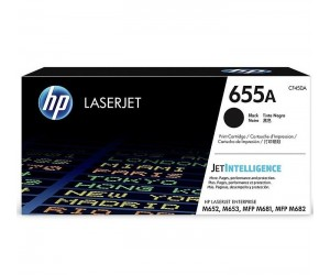 HP 655A original black toner cartridge
