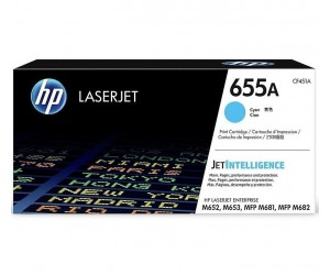 HP 655A original cyan toner cartridge