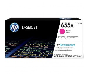 HP 655A original magenta toner cartridge