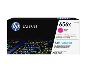 HP 656X original magenta high yield toner cartridge