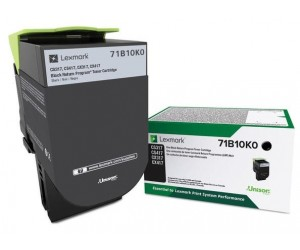 Lexmark 711K original -return program- black toner cartridge