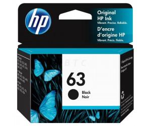 HP 63 original black inkjet cartridge