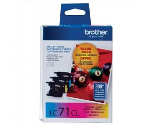 Brother LC713PKS original cyan magenta yellow inkjet cartridge combo pk