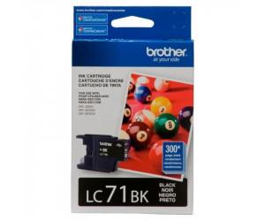 Brother LC71BK original black inkjet cartridge
