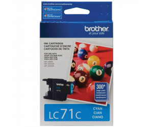 Brother LC71C original cyan inkjet cartridge