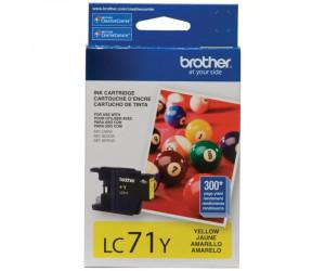 Brother LC71Y original yellow inkjet cartridge