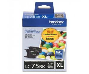 Brother LC752PKS original black high yield inkjet cartridge dual pack