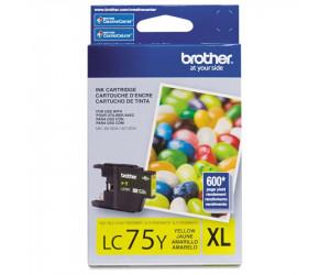 Brother LC75Y original yellow high yield inkjet cartridge