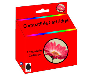 LC203BK compatible black high yield inkjet cartridge  for Brother printers