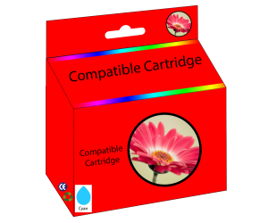 LC203C compatible cyan high yield inkjet cartridge  for Brother printers