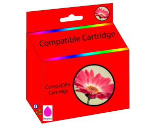 LC203M compatible magenta high yield inkjet cartridge  for Brother printers