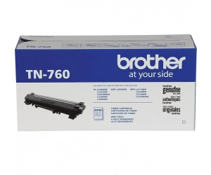 Brother TN-760 original black high yield toner cartridge