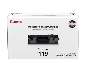 Canon 119 original black toner cartridge