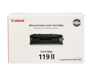 Canon 119II original black high yield toner cartridge