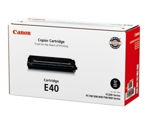 Canon E40 original black toner cartridge