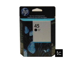 HP 45 original black inkjet cartridge