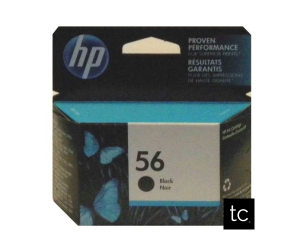 HP 56 original black inkjet cartridge